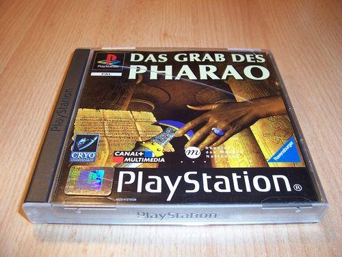 PlayStation 1 PS1 Spiel - Das Grab des Pharao  PSone PSX USK 12 - komplett + Anleitung gebr.