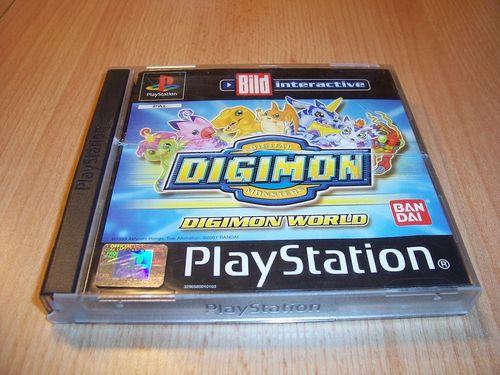 PlayStation 1 PS1 Spiel - Digimon World  Bild  PSone PSX USK 12 - komplett ohne Anleitung gebr.