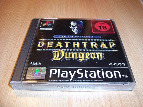PlayStation 1 PS1 Spiel - Deathtrap Dungeon  PSone PSX USK 18 - komplett + Anleitung gebr.