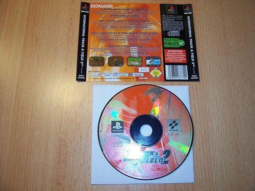PlayStation 1 PS1 Spiel - International Track & Field 2 PSone PSX USK 0 - nur CD + Rückcover gebr.
