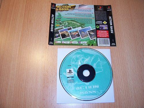 PlayStation 1 PS1 Spiel - Action Bass Anglerspiel PSone PSX USK 0 - nur CD + Rückcover gebr.